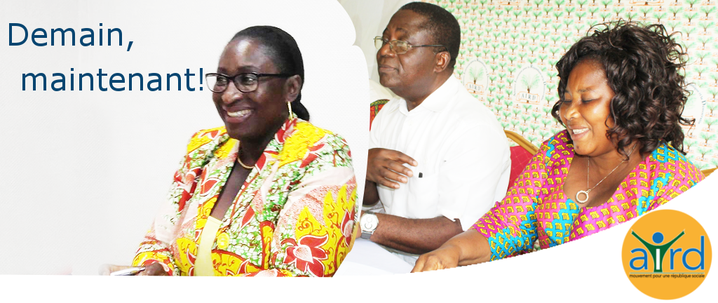 Pour Demain, Maintenant l'aird est résolument au travail pour réconcilier les Ivoiriens avec la politique