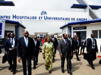 Nouvel hôpital de Angré, commune de Cocody