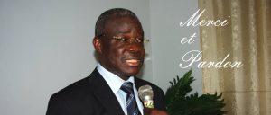 Le ministre Eric Kahe, président de l'AIRD